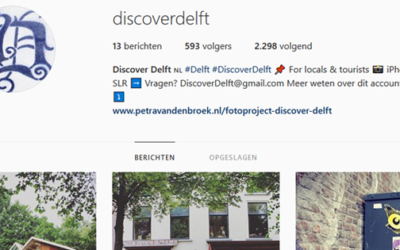 Instagram-project: Discover Delft